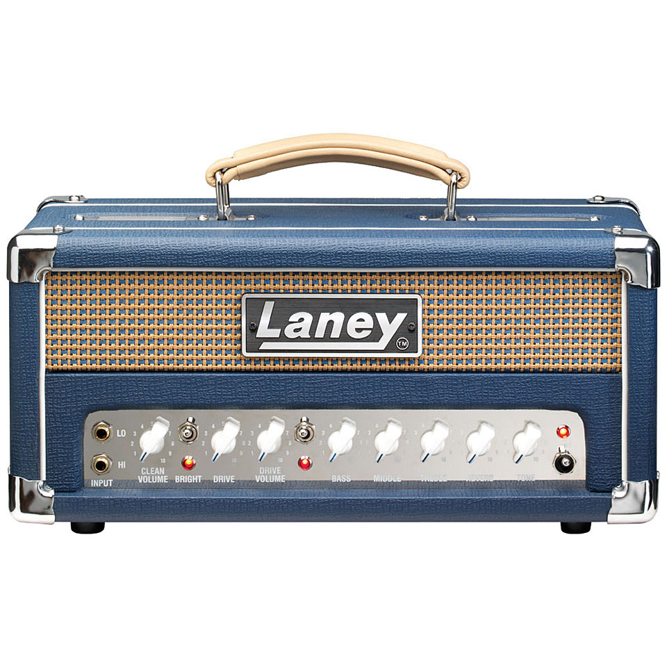 Laney Lionheart L5-Studio 5 watt buizen top en interface