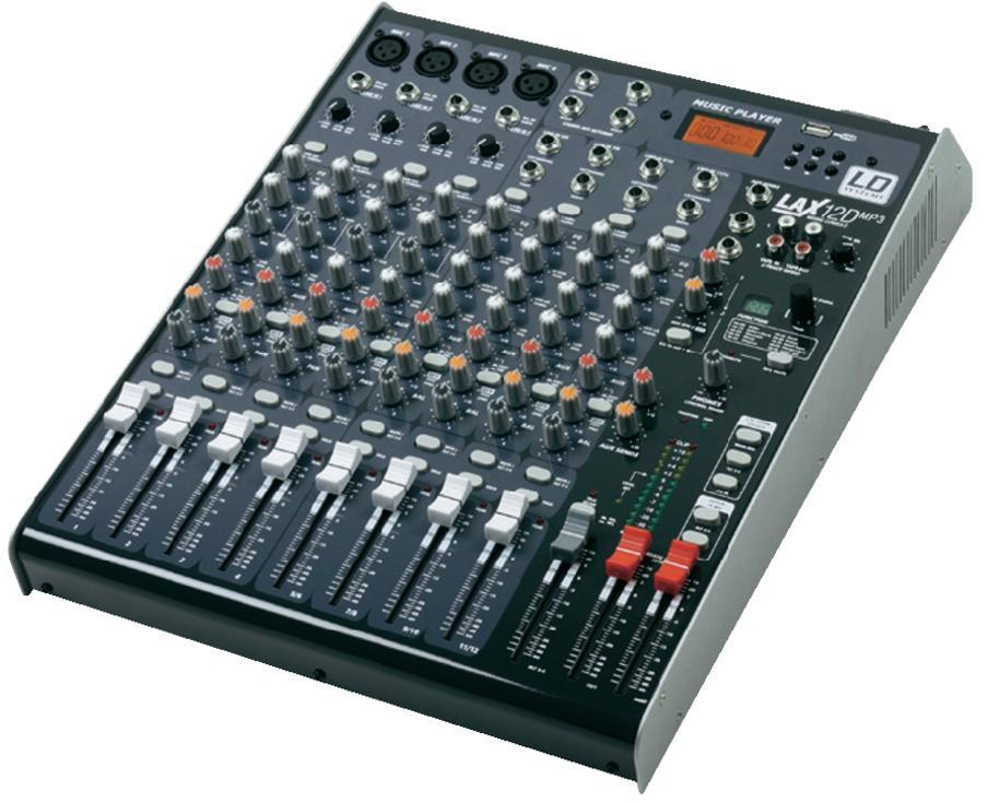 LD Systems LAX12D USB mixer