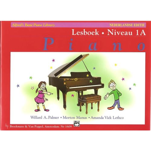 Alfred's Basic Piano Lesboek 1A