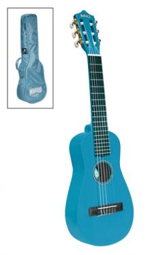 Ukelele gitaar blauw