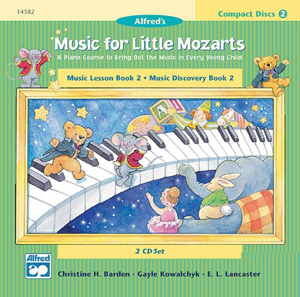 Music for little Mozarts CD-set deel 2