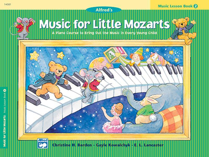 Music for little Mozarts lesson book 2
