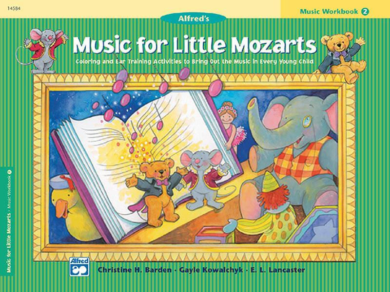 Music for little Mozarts workbook deel 2