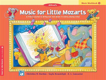 Music for little Mozarts (workbook)
