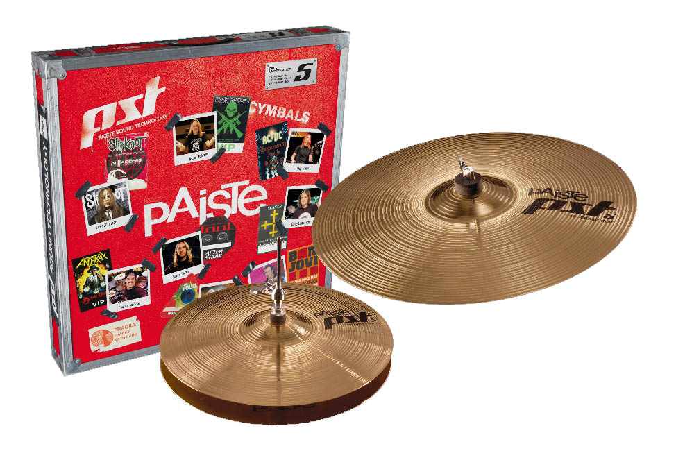 Paiste Pst 5 Essential 2 Set 14-18 In Box