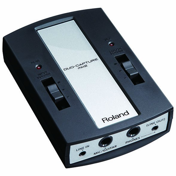 Roland Duo-capture MKII USB audio interface