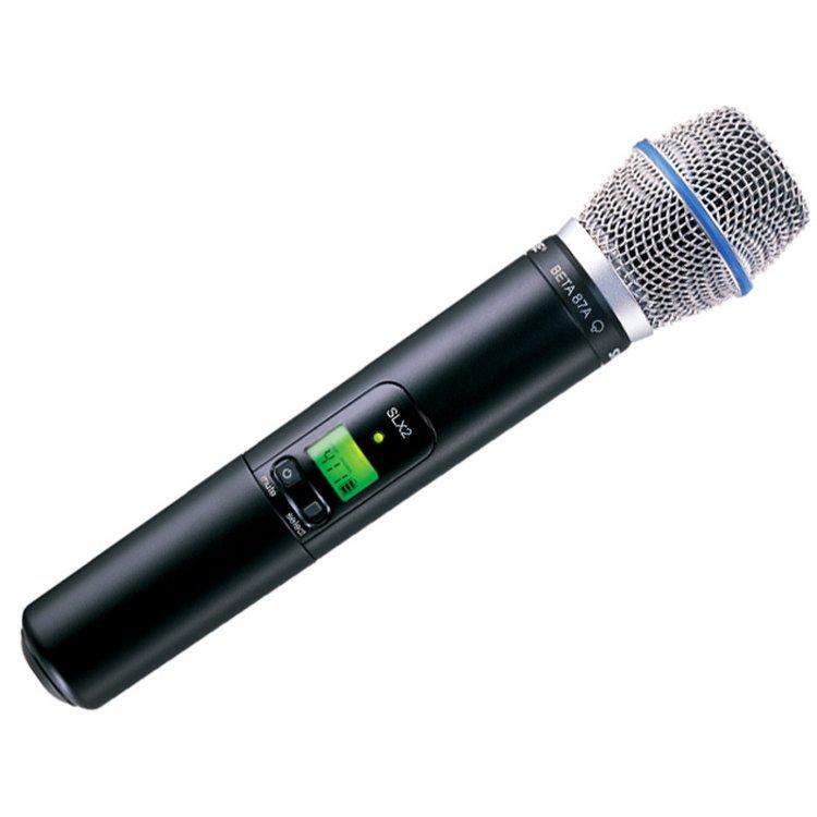 Shure SLX2 - SM 87A Draagbare Zendermicrofoon