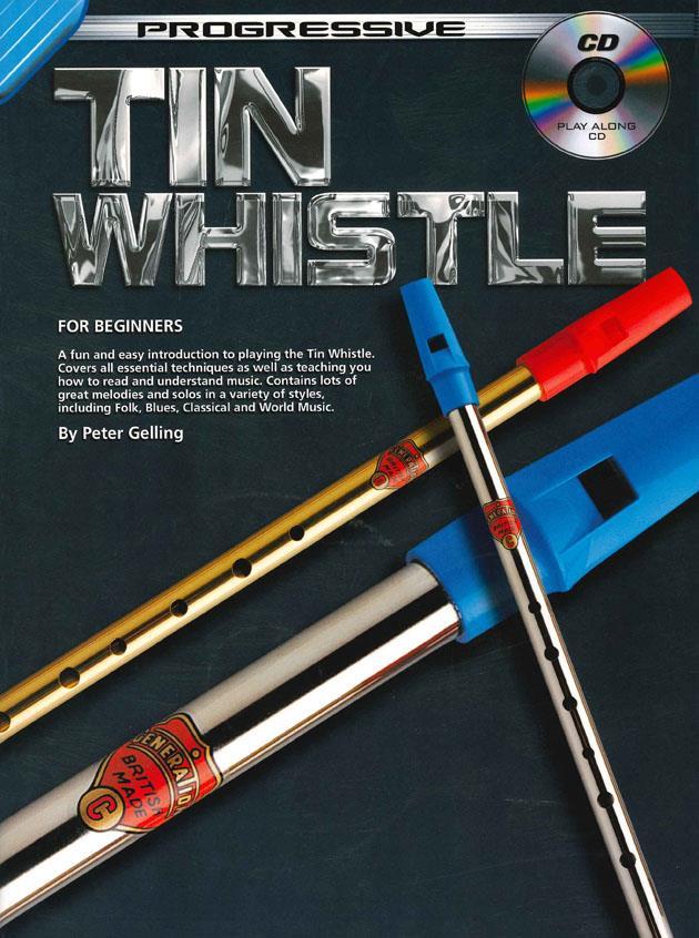 Tin Whistle for beginners (met CD)