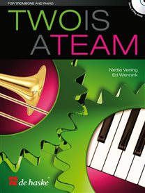 Two is a Team - Trombone & Piano (+CD)