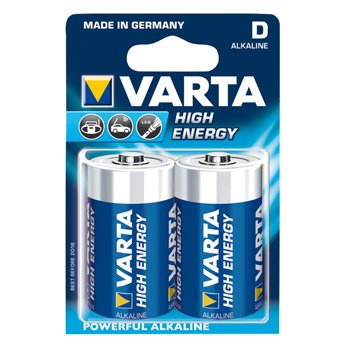 Varta High Energy Alkaline D batterijen