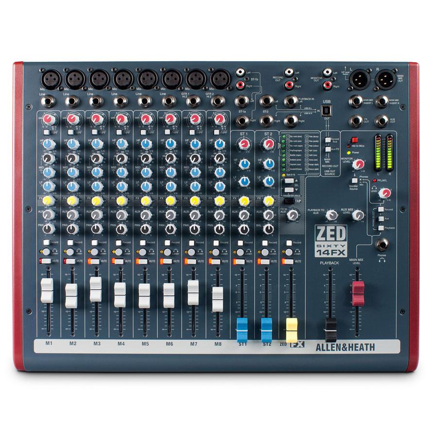 Allen & Heath ZED60-14FX mixer